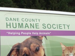 Dane County Humane society van
