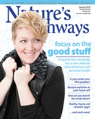 Cover of Natures Pathways Magazine - January2015