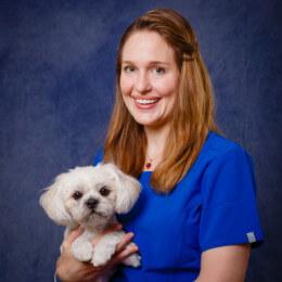 Catie Hawkins, veterinarian