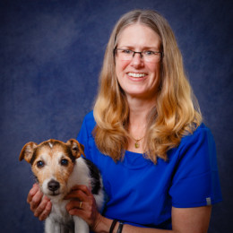 Portrait of veterinarian Dr. Katie