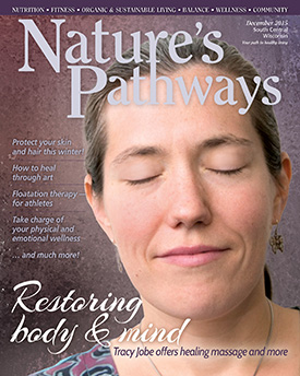Link to Katie's article. Image is Nature's Pathway magazine cover for December