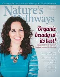 Cover of Natures Pathway Magazine January 2016 - Read Katie's Gratitude article