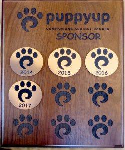 Journeys Home Pet Euthanasia has been a Puppy Up sponsor since its inception