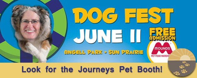 Meet us at Mounds Dog Fest on June 11th