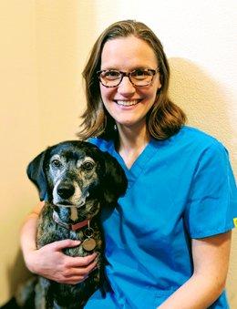 Veterinarian Miranda Braithwaite, , DVM, MPH, MA