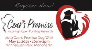 Czar's Promise Walk - promotion logo