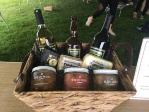 Gift Basket with items from Wisconsin