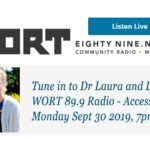 Join us on WORT 89.9FM Access Hour – Call Ins Welcome
