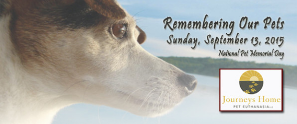 Remembering our pets event 2015 Sept 13 at 10:30am